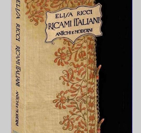 i ricami di Elisa Ricci