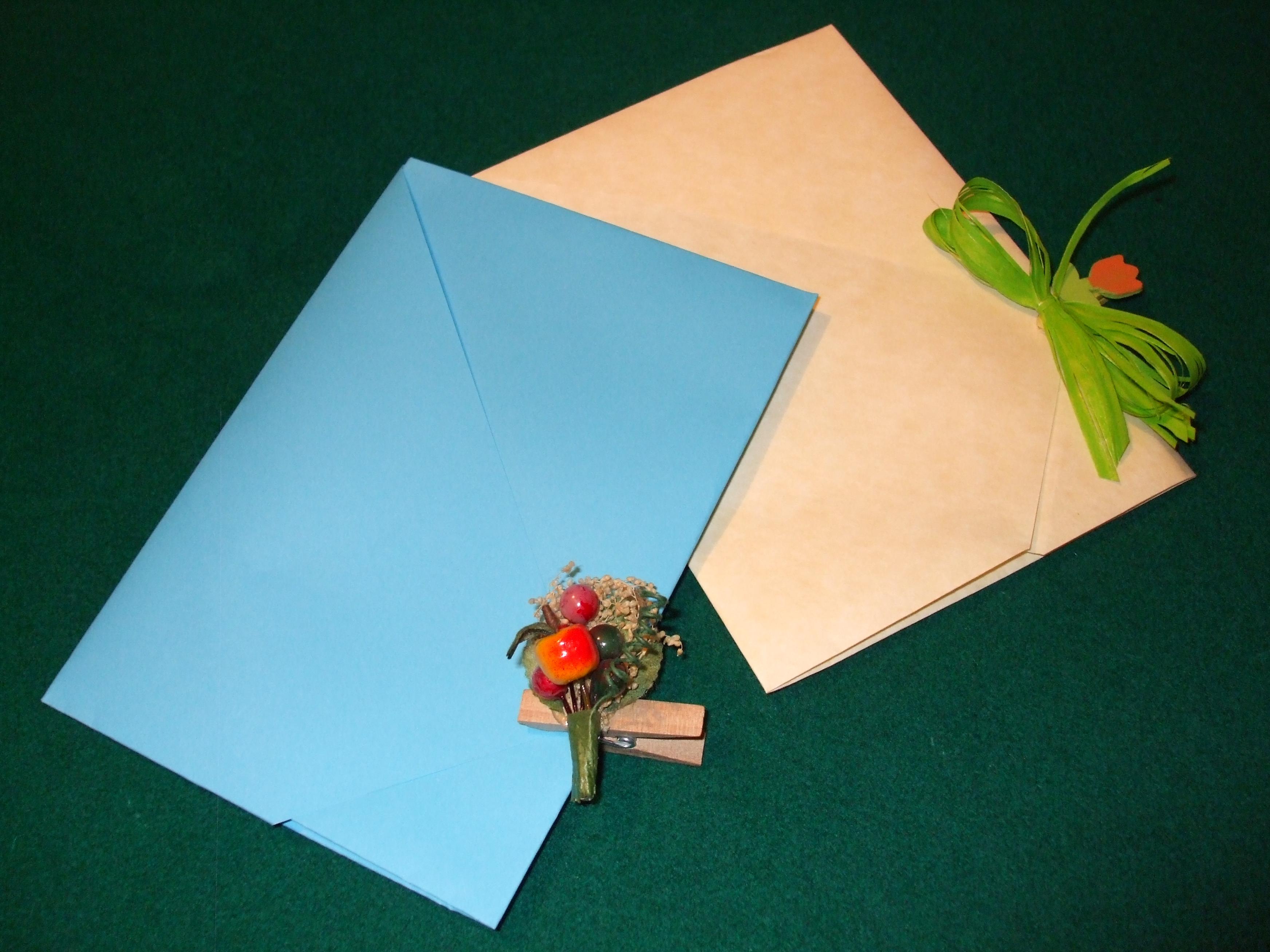 biglietti invito con tecnica origami
