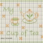 Punto Croce – E' l'ora del Tè