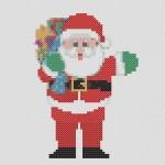Schema Punto Croce – Babbo Natale