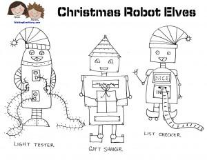 robot natalizi