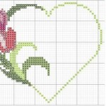 Punto Croce – Schemi di Ricamo per San Valentino