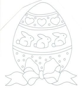 uovo di pasqua da ricamare