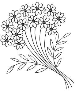 margherite_disegno di ricamo
