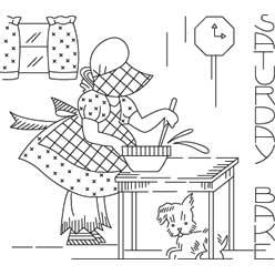 sunbonnet-sue-disegno-da-ricamo.jpg - Disegni Per Cucina