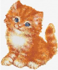gattino a punto croce
