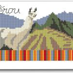 Cartoline a Punto Croce – Perù