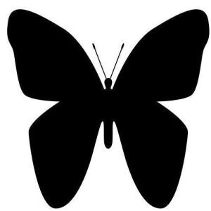 sagoma farfalla mod. 02