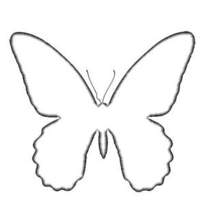 sagoma farfalla mod. 03