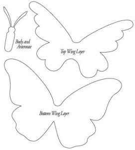 sagoma farfalla mod. 04