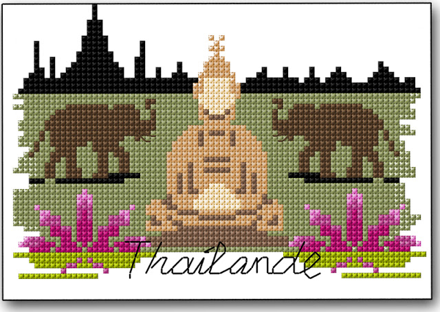thailandia punto croce