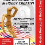 Mostra Mercato di Hobby Creativi a Pizzighettone 2016
